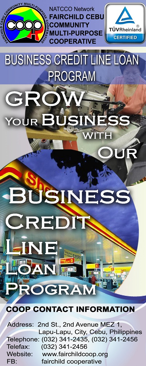 <b>Business Credit Line Loan</b>
