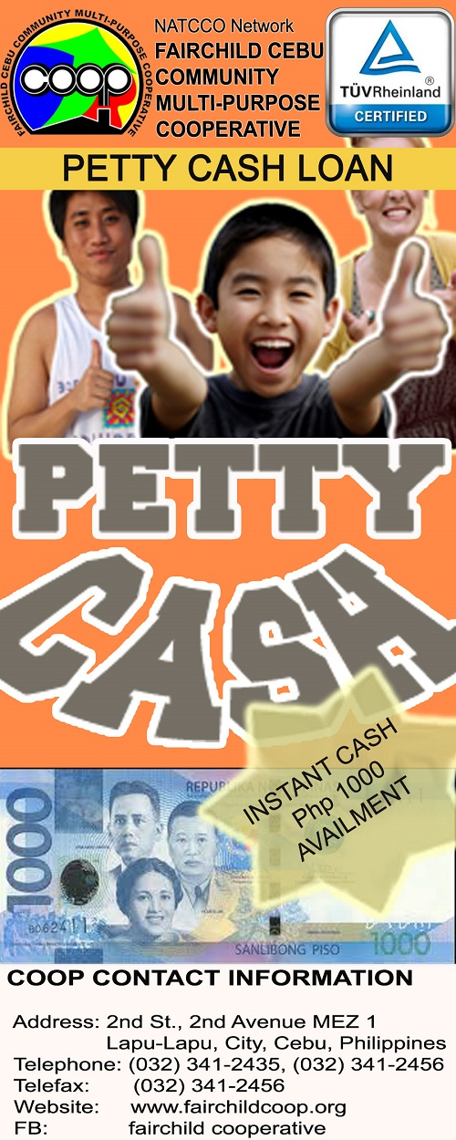 <b>Petty Cash Loan</b>
