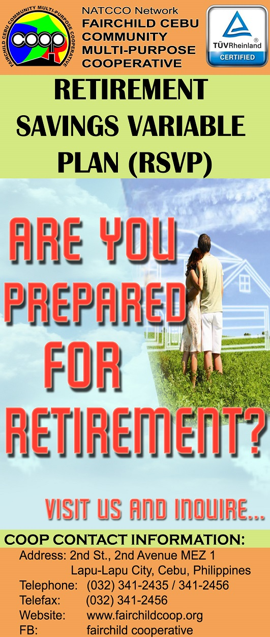 <b> Retirement Savings Variable Plan (RSVP) </b>