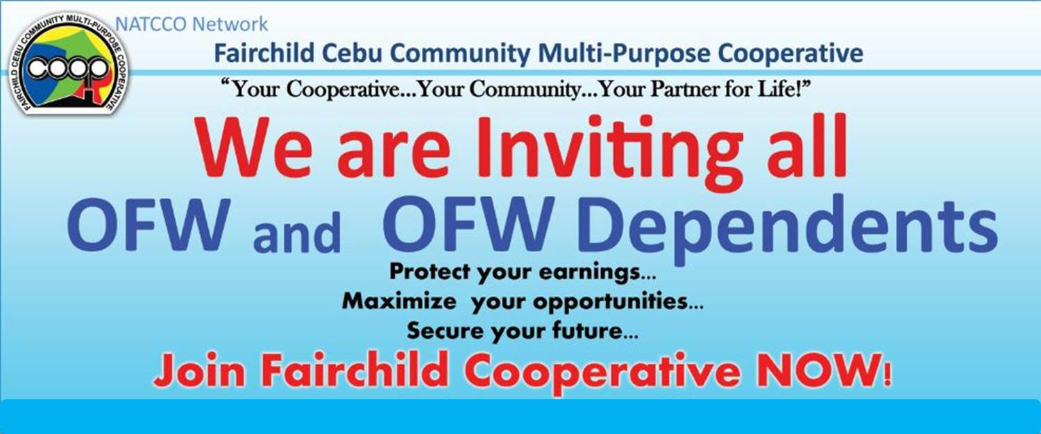 An invitation to all OFW & OFW Family/Dependents